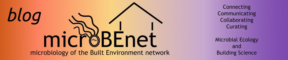 microBEnet blog: Blogging the microbiology of the Built Environment network.