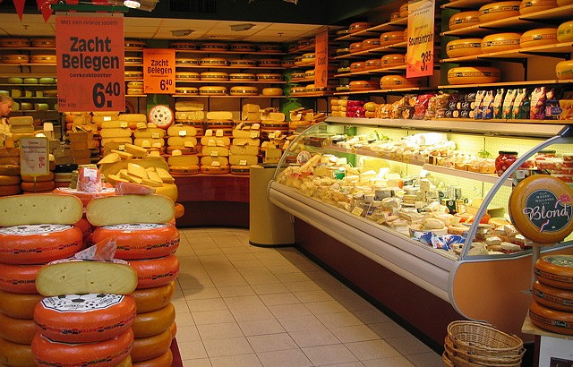 Some cheese in its natural habitat. Via Flickr under the creative commons public domain license.