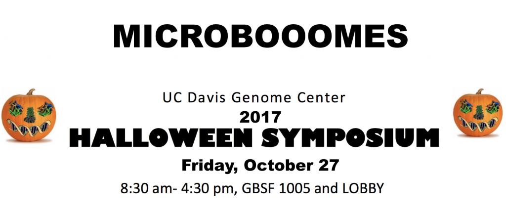 Save the date – 10/27 – MICROBOOOMES at #UCDavis